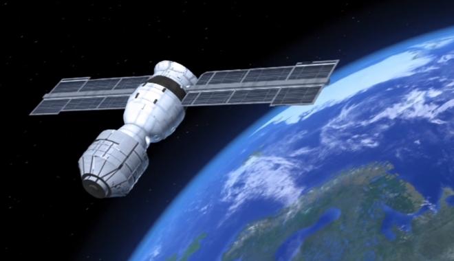 Foto: ALERTĂ MONDIALĂ! Staţia Spaţială Chineză, de nouă tone, se va prăbuşi pe Pământ