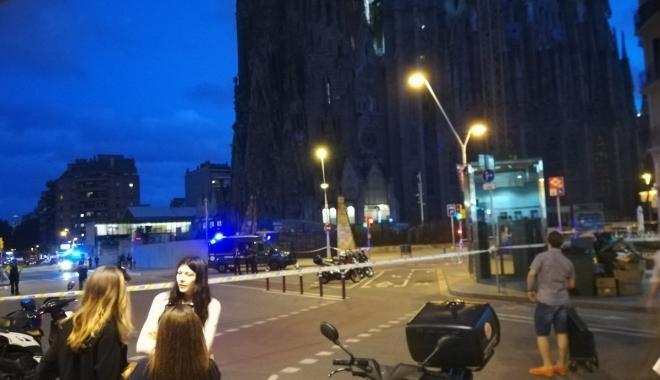 Foto: Operaţiune antiteroristă în Barcelona. Catedrala Sagrada Familia a fost evacuată