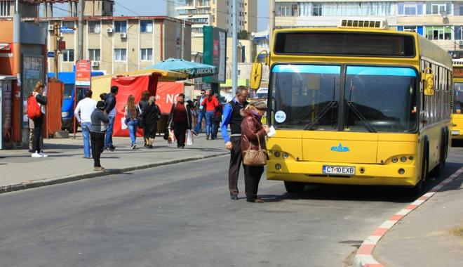 Foto: RATC. Iată cum circulă autobuzele în minivacanţa de Paşte