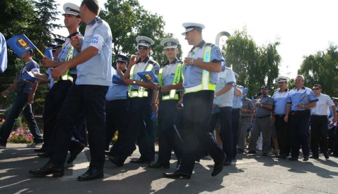 Foto: Cum se vor face angajările şi promovările în Poliţia Română / Noul Statut al poliţistului aduce schimbări importante