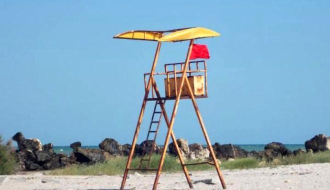 STEAG ROȘU! Pericol de înec pe litoral!