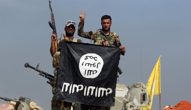 Foto: Drapelul grupării Stat Islamic, legal în Suedia