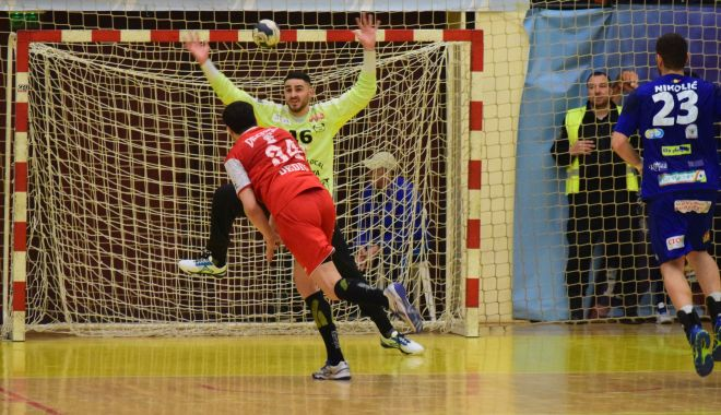 Foto: HC Dobrogea Sud, victorie cu Steaua, după un final DRAMATIC. Iancu - eroul meciului
