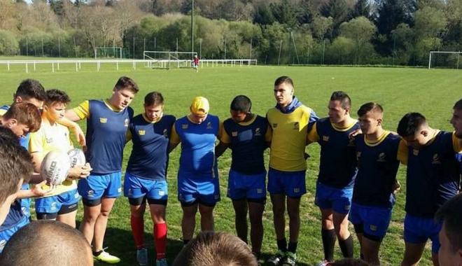 """Foto: """"Stejăreii"""" vor disputa finala mică la Rugby Europe U18 Trophy"""