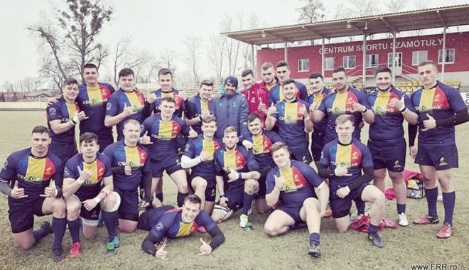 """Foto: """"Stejarii"""", în finala pentru locurile 5-6, la Rugby Europe Championship"""