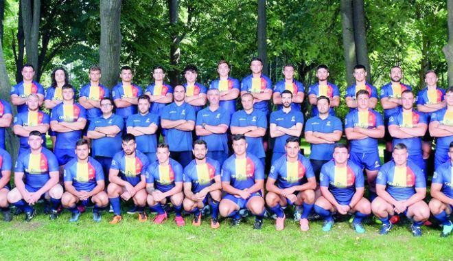 """Foto: """"Stejăreii"""" pregătesc debutul la World Rugby U20 Trophy"""