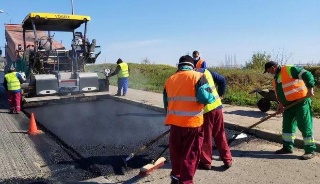 Foto: Strada Brizei din cartierul Faleză Sud se asfaltează!