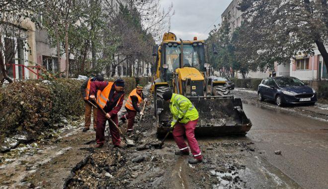 Foto: Strada Bucureşti din Constanţa, reasfaltată