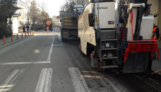 Foto: Atenție, șoferi! Strada Bucureşti din Constanţa, închisă