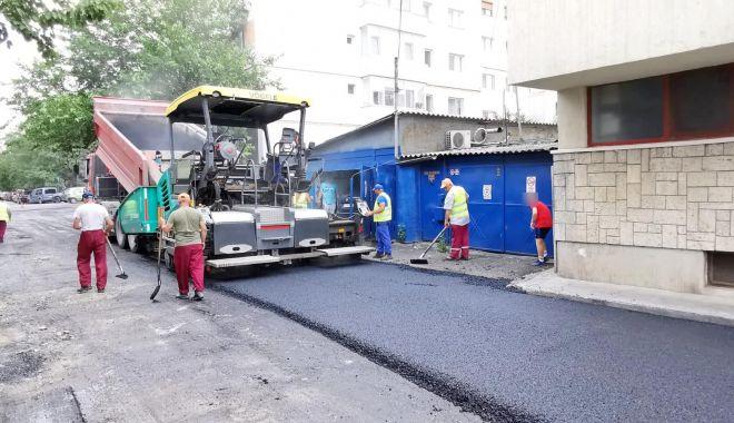 Foto: Strada Farului din Constanța, complet reabilitată