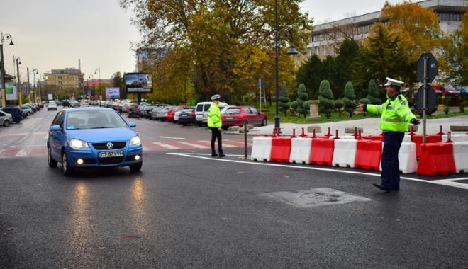 Foto: Circulaţia rutieră în Constanţa, restricţionată sâmbătă. Care  sunt zonele vizate