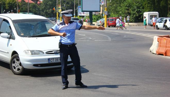 Foto: Străzi închise de Ziua Marinei în municipiul Constanţa