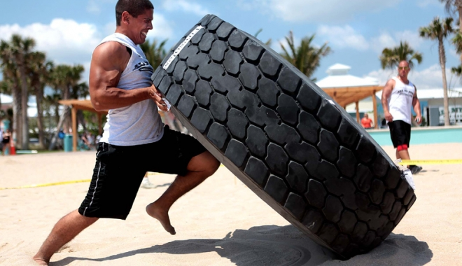 Foto: Cel mai puternic om din ţară va fi ales la competiţia Strongman, din Mamaia