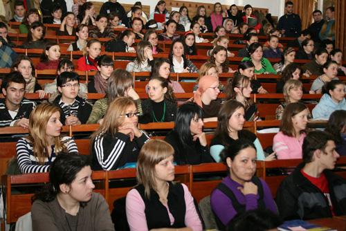 Foto: Concurs de proiecte dedicat studenţilor