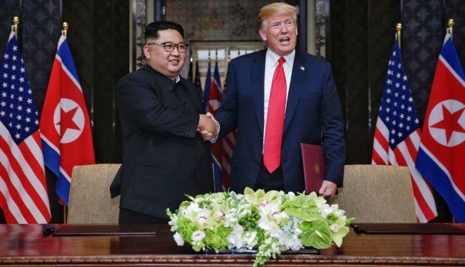 Foto: SUA vor transmite Coreei de Nord  un calendar post-summit  cu cerinţe specifice