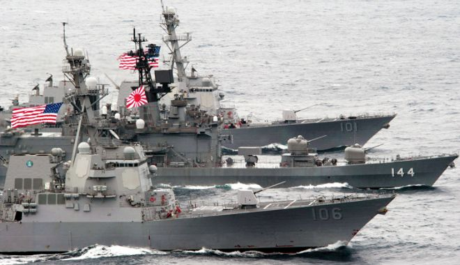 Foto: SUA şi Japonia au efectuat cu succes un test  al sistemului Aegis