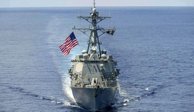 Foto: SUA se pregătesc să trimită o navă de război în Marea Neagră