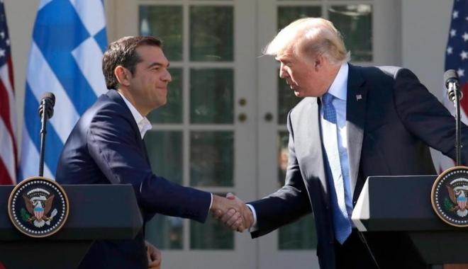 Foto: SUA: Donald Trump laudă eforturile Greciei pentru a depăşi criza