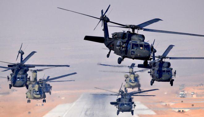 Foto: SUA au livrat Iordaniei ultima tranşă de elicoptere Black Hawk