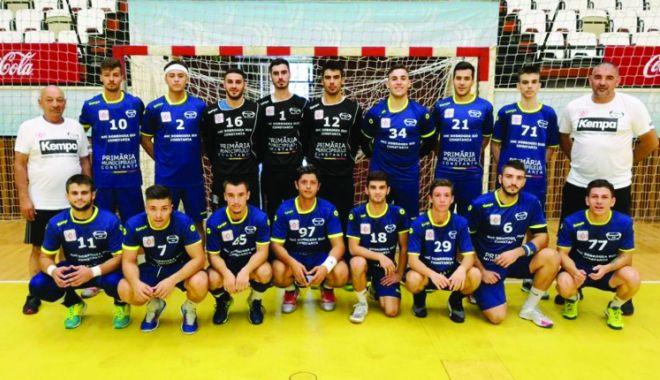 Foto: Succese pentru echipele constănţene de handbal masculin, în Divizia A