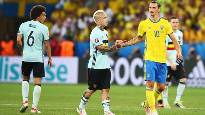 Galerie foto. Ultimul meci pentru Zlatan Ibrahimovic în tricoul Suediei - suedia4-1466666852.jpg