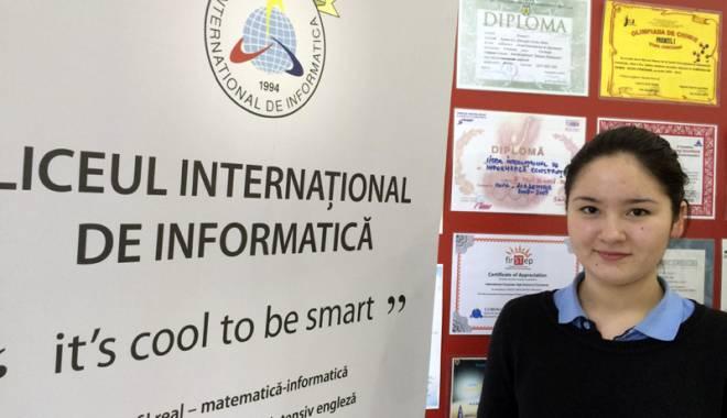Foto: Cum a ajuns o elevă tătăroaică olimpică de Naţională la limba română