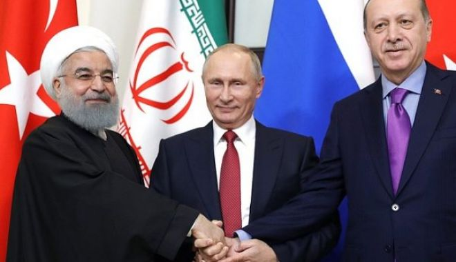 Foto: Summit Rusia - Iran - Turcia, la Soci, consacrat impulsionării dialogului intersirian