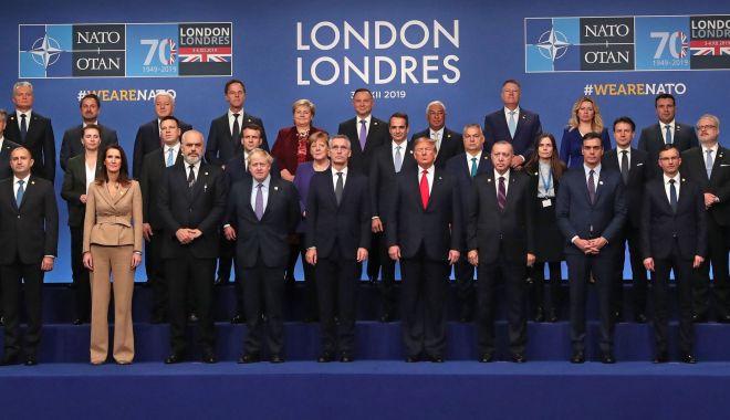 Foto: Summit NATO la Londra. Liderii statelor membre reafirmă clauza apărării colective