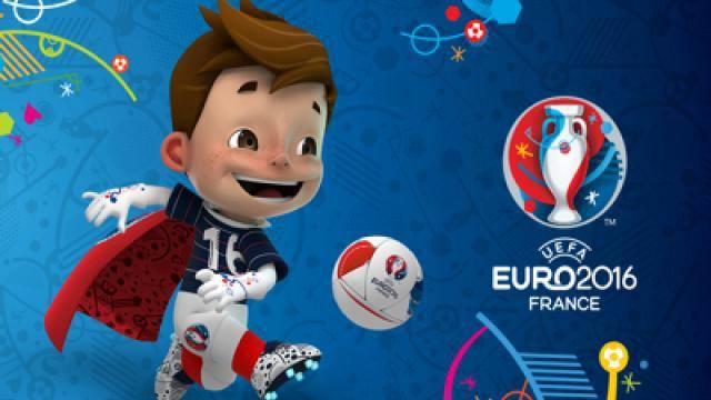 Foto: Fotbal: Super Victor, mascota Campionatului European din 2016