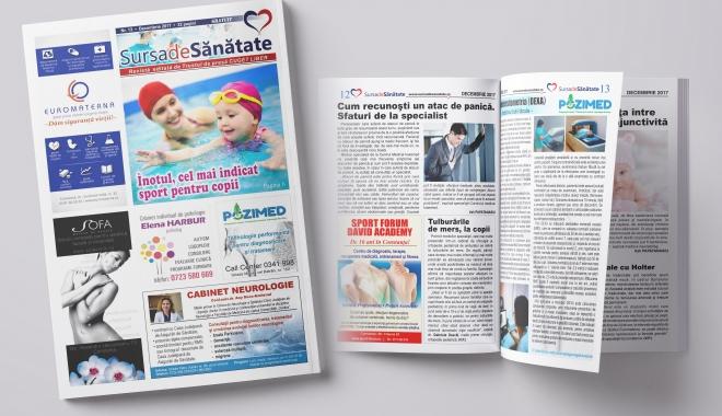 """Foto: Cadou pentru constănţeni! Revista """"Sursa de Sănătate"""", de săptămâna viitoare, în chioşcurile """"Cuget Liber"""""""
