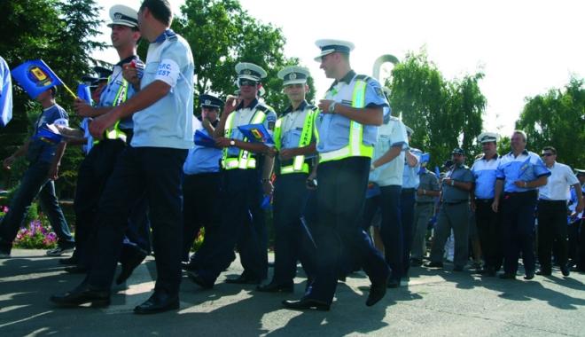 Foto: Poliţiştii au ajuns la limita răbdării şi vor ieşi în stradă.