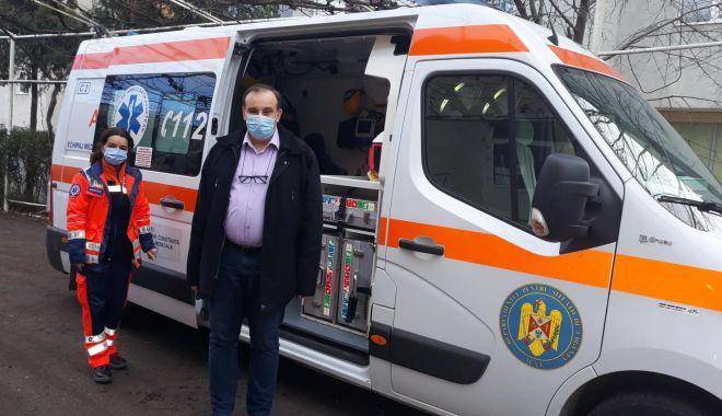 """Dr. Laurenţiu Bădescu: """"Personalul de la Ambulanță este epuizat, dar cu moralul ridicat"""" - sus-1611945958.jpg"""