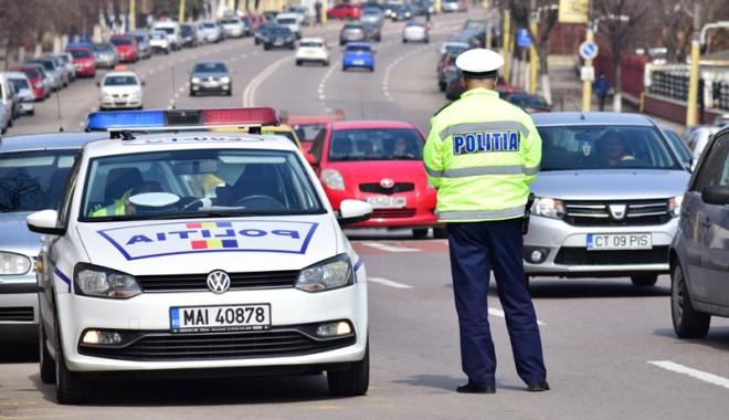 Foto: Sute de poliţişti, în stradă de Paşti. Restricţii de circulaţie în Constanţa