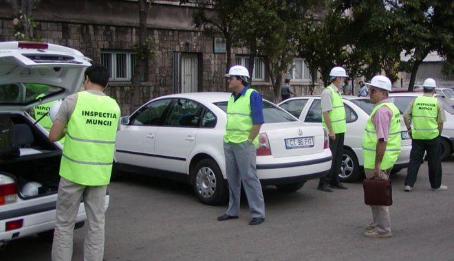 Foto: Sute de agenţi economici amendaţi de Inspectoratul de Muncă