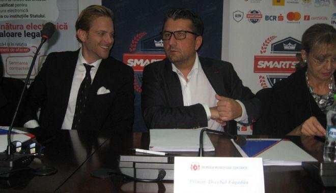 Foto: Sute de antreprenori constănțeni, interesați să obțină finanțare prin programul Smart Start USA