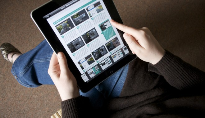Foto: Cum ��i poate afecta s�n�tatea utilizarea tabletelor digitale tactile
