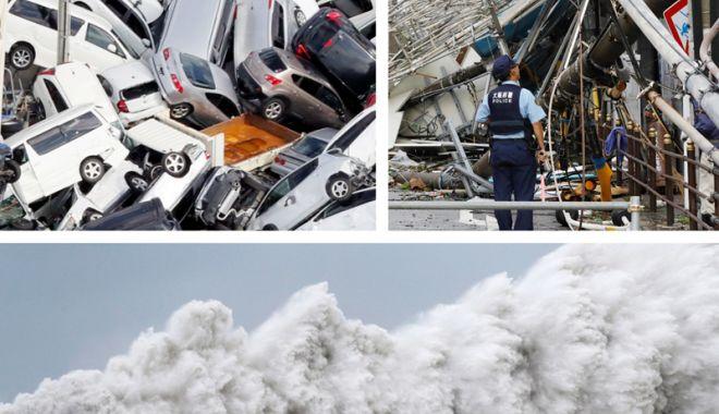 Foto: Cel mai puternic taifun din ultimii 25 de ani! Victime multiple și pagube cât cuprinde