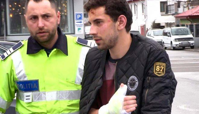 Foto: Şoferul care a ucis doi tineri, în accidentul din Constanţa, a fost arestat preventiv