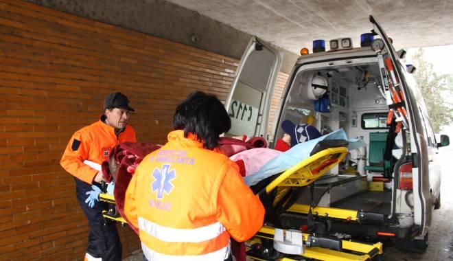Foto: GRAV ACCIDENT RUTIER LA MEDGIDIA. O VICTIM� ESTE �N COM�