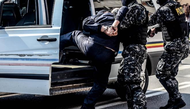Foto: Urmărit international în Belgia şi Franţa, prins de poliţiştii constănţeni