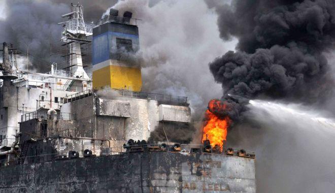Galerie FOTO-VIDEO / 7 navigatori MORȚI în incendiul de pe un tanc petrolier. Unde s-a petrecut TRAGEDIA - tanc2-1589375144.jpg
