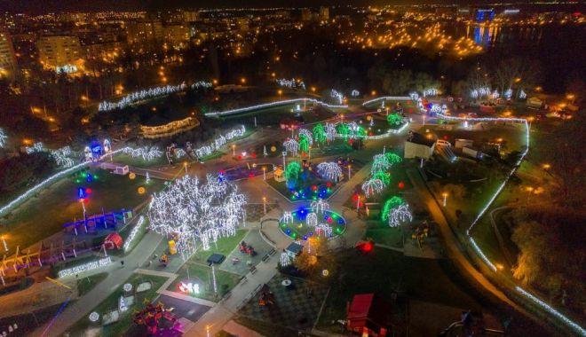 Tărâmul Magic al Crăciunului, amenajat la Constanța - taramulmagicalcraciunului-1543233400.jpg