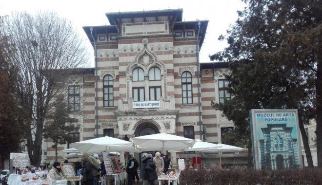 Foto: Târg de Mărțișoare, la Muzeul de Artă Populară Constanța