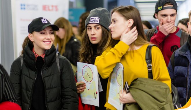Foto: Târg  de universităţi din străinătate, la Constanţa