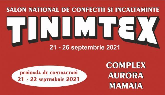 Târgul național de îmbrăcăminte și încălțăminte TINIMTEX se deschide pe 21 septembrie - targultinimtexsedeschidepe21sept-1630608145.jpg