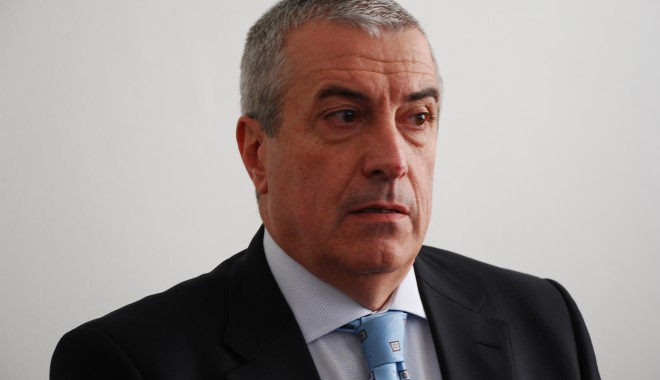 Foto: Călin Popescu Tăriceanu este NOUL PREŞEDINTE al Senatului