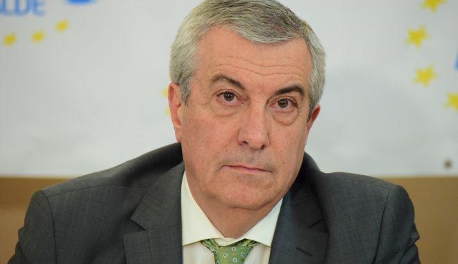 """Foto: Călin Popescu Tăriceanu: """"Nu s-a luat o decizie privind liste comune ALDE-PSD la europarlamentare"""""""