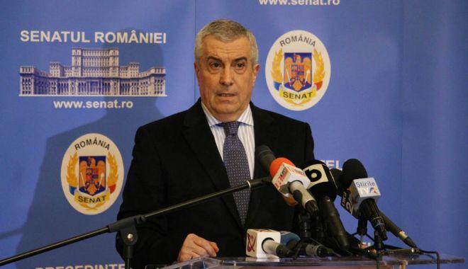"""Foto: Tăriceanu: """"Vrem să avem un candidat cu care să îl putem învinge pe Iohannis"""""""