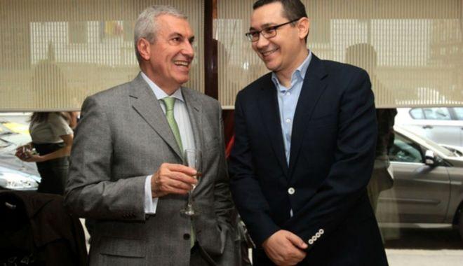 Foto: Ponta și Tăriceanu vor candidat unic cu PSD la alegerile prezidențiale