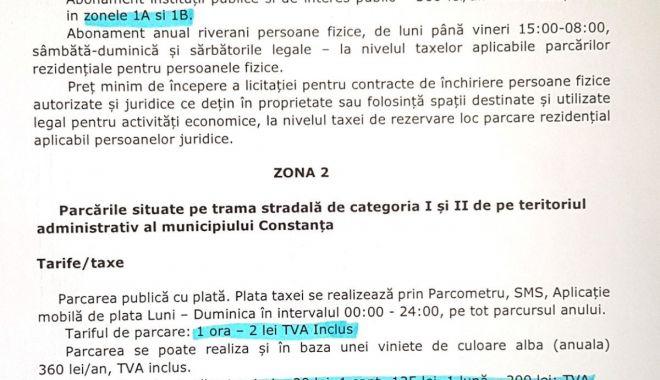 Taxa de parcare, modificată. Cât va costa și care sunt zonele centrale - taxeparcare1-1614888488.jpg